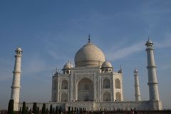 Georgous Taj Mahal in Agra stock photography