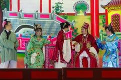 GEORGTOWN, PENANG, МАЛАЙЗИЯ - НОЯБРЬ 18 2016: Уличный театр Китая во время фестиваля в этом городе Стоковая Фотография RF