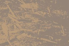 Georiënteerde bundelraad voor bouw OSB-textuur van bladmateriaal voor de achtergrond Vector illustratie Eps 10 Royalty-vrije Stock Afbeeldingen