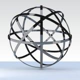 geosphere 3d Imagen de archivo libre de regalías