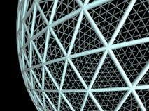 geosphere 3d Arkivbild