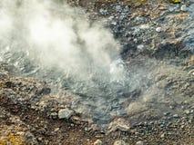 Geotermico dello stagno della sorgente di acqua calda in Islanda Immagine Stock Libera da Diritti