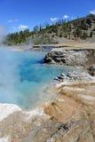 Geotermiczna aktywność przy Yellowstone parkiem narodowym, Wyoming Obraz Stock