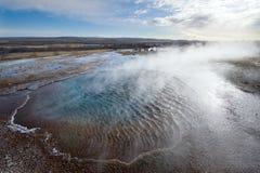 Geotermiczna gorąca woda Fotografia Stock