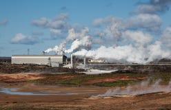 Geotermiczna elektrownia Fotografia Stock