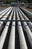 geotermiczna energetycznej rury władze pary zdjęcia stock