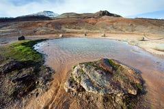 Geotermiczna gorąca woda Obrazy Stock