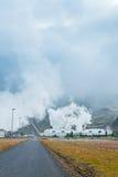 Geotermiczna władza Iceland Obrazy Royalty Free