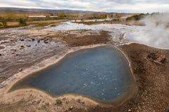 Geotermiczny icelandic geysir Fotografia Royalty Free