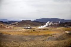Geotermiczny krajobraz w Iceland6 Zdjęcie Royalty Free