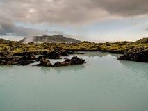 Geotermiczny Krajobrazowy Iceland Zdjęcia Royalty Free