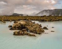Geotermiczny Krajobrazowy Iceland Fotografia Royalty Free