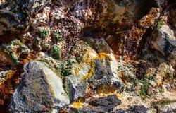 Geotermiczny teren w Iceland fotografia royalty free