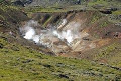 geotermisk 1 ingen ånga Royaltyfri Bild