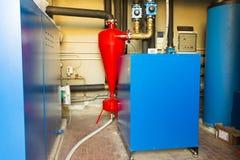 Geotermisk värmepump för att värma Royaltyfri Fotografi