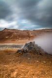 geotermiskt fält Arkivbild