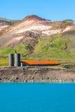 Geotermiskt område Royaltyfria Bilder