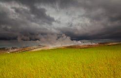 Geotermiskt område Royaltyfria Foton