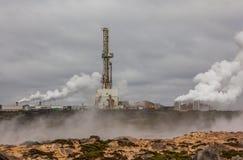 Geotermiskt område, Island. Royaltyfria Bilder