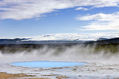Geothermal activity. See my other Images of Iceland Royalty Free Stock Photos