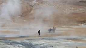 Geothermal activity in Iceland Royalty Free Stock Photography
