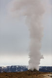 Geothermal activity in volcanic area in Iceland Stock Photography