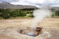 Geothermal area Royalty Free Stock Photography