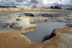 Geothermal area Stock Photography