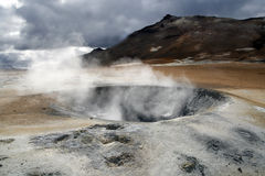 Geothermal area Royalty Free Stock Images
