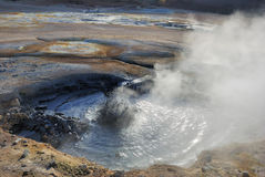 Geothermal area royalty free stock image