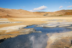 Geothermal Area Hverir Royalty Free Stock Images