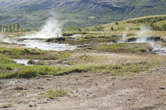 Geothermal area in Iceland Royalty Free Stock Images
