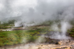 Geothermal area in Iceland. Stock Image