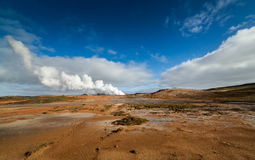 Geothermal area Stock Images