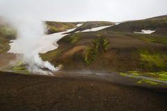 Geothermal area Landmannalaugar Stock Photography