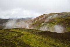 Geothermal area Landmannalaugar Royalty Free Stock Images