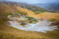Geothermal area Landmannalaugar Stock Photo
