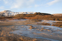 Geothermal area Strokkur Royalty Free Stock Photo