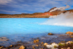 Geothermal energy Stock Photography