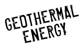 Geothermal Energy rubber stamp Royalty Free Stock Photo