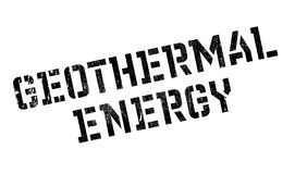 Geothermal Energy rubber stamp Stock Image