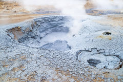 Geothermal field Namaskard, Iceland Stock Photography