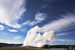 Geothermal geyser Stock Photo