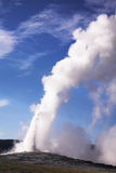 The geothermal geyser Royalty Free Stock Photo