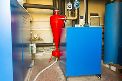 Geothermal heat pump for heating Royalty Free Stock Photography