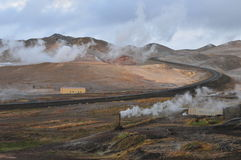 Fumarole Geothermal Royalty Free Stock Photo