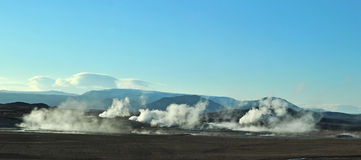 Geothermal Stock Image