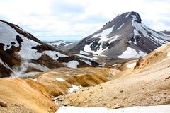 Geothermal landscape in Iceland. Stock Images