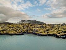 Geothermal Landscape Iceland Stock Images