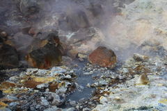 Geothermal landscape III Royalty Free Stock Images